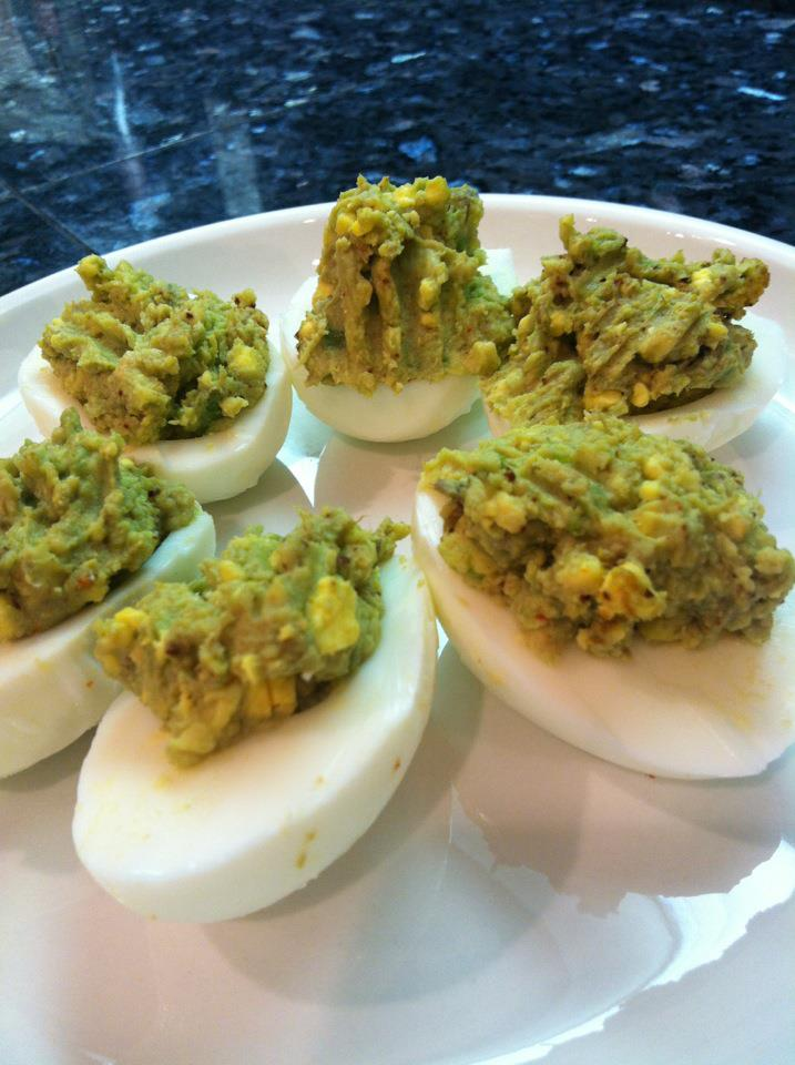 Paleo Recipe: Hard Boiled Eggs with Avocado, Cumin, and Curry ...