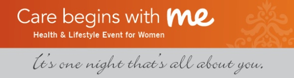 Care Begins with Me event on Tuesday, October 9th at the Sheraton Grand