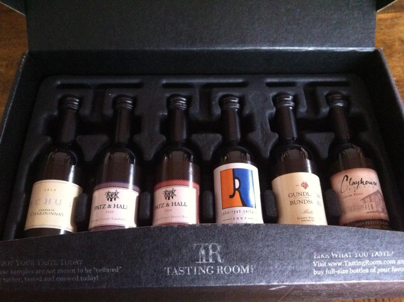 Holiday Gift Idea Wine Samplers From Tastingroom Com