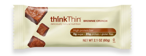 thinkThin BROWNIE CRUNCH wrapper