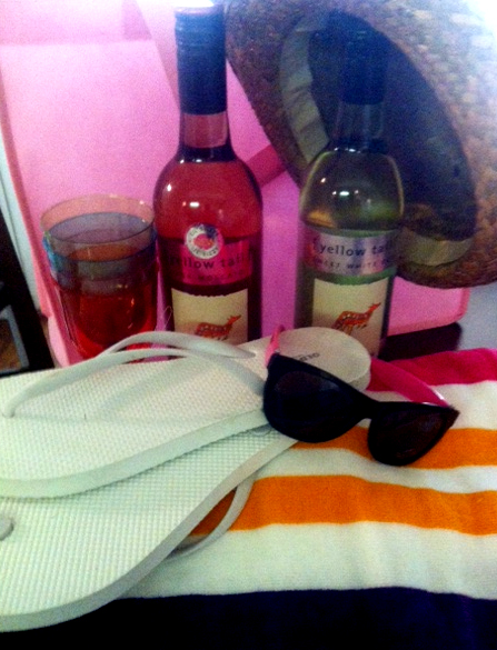 Summer Survival Wine Kit Giveaway Sponsored by [yellow tail] Wines