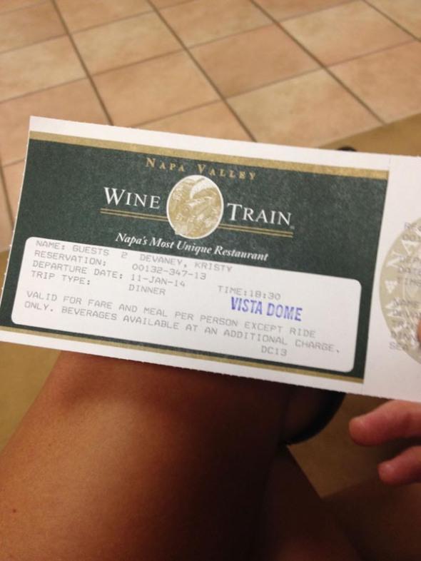boarding ticket