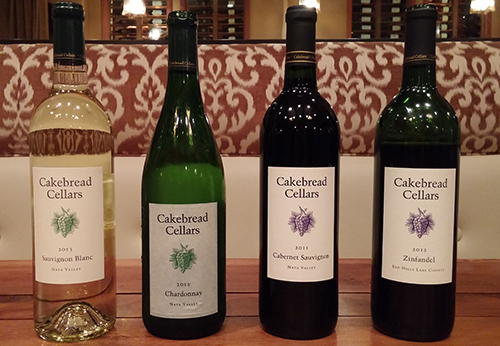 Farm to Fork Wine Dinner Series: Sienna Restaurant Featuring Cakebread Wines