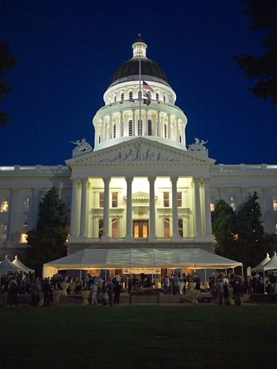 Farm-to-Fork's Legends of Wine Returns to the State Capitol on September 18th, 2015