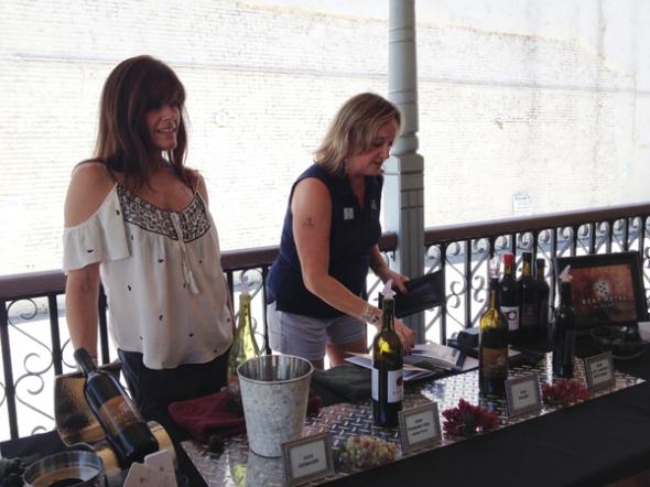 bent metal wines