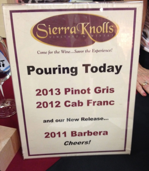 sierra knolls menu
