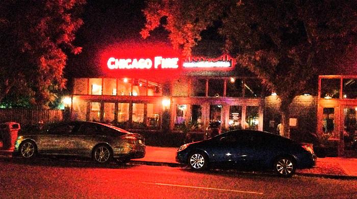 facade chicago fire