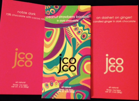 12 Days of Christmas Picks for the Food and Wine Lover: jcoco Chocolate Bars Gift Set