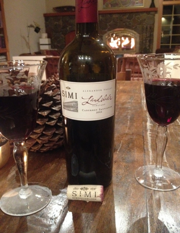 12 Days of Christmas Picks for the Food and Wine Lover: SIMI's Landslide Cabernet Sauvignon