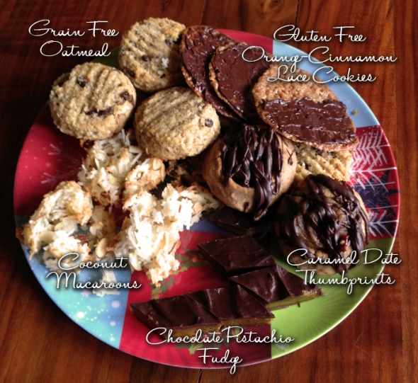 Recipes from the 1st Annual Ladies Holiday Party and Gluten Free Cookie Exchange Sponsored by Challenge Butter and Bob's Red Mill