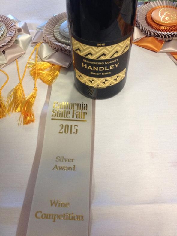 Handley Pinot 2012 Mendocino Silver2