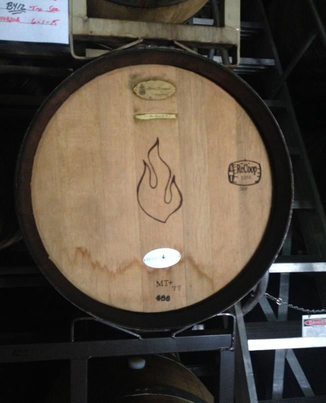Wine barrel ine