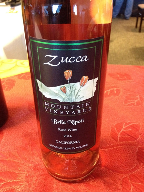 Zucca 2014 Rose