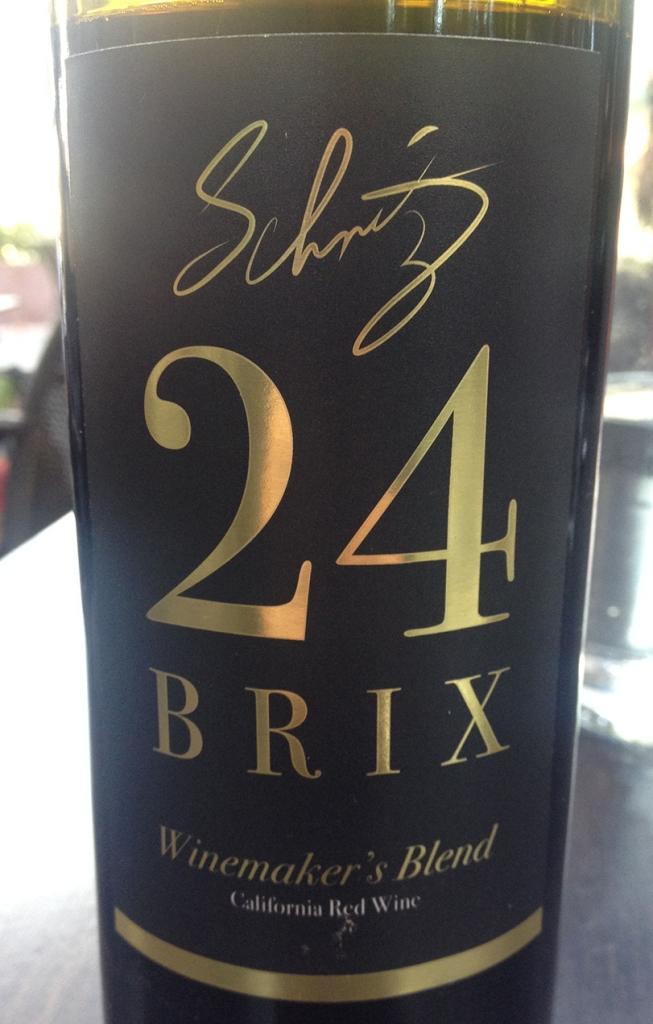 24 Brix Label Front