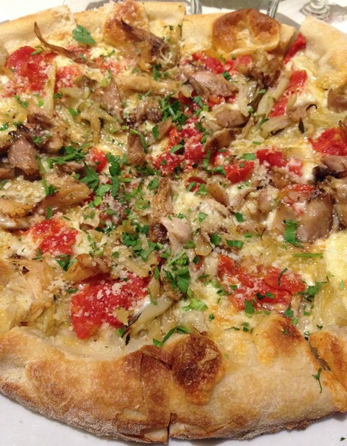 rabbit pizza