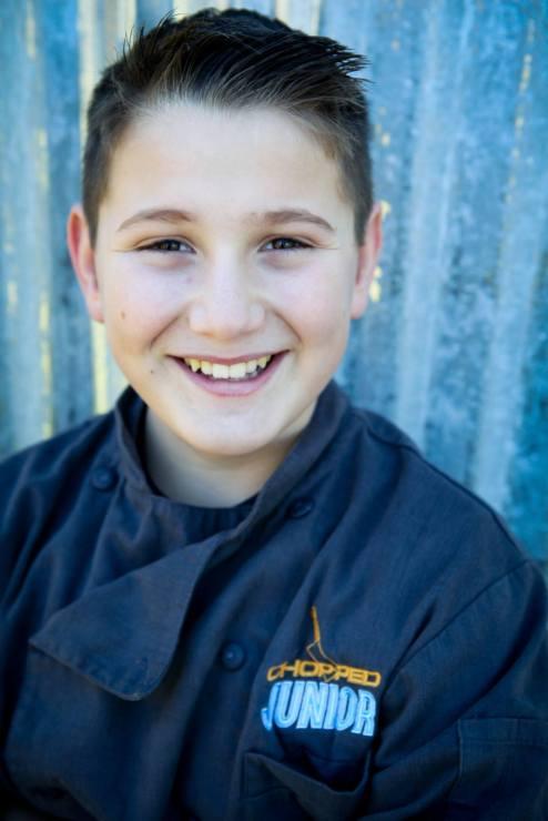 Meet Mason Partak, Winner of Chopped Junior!