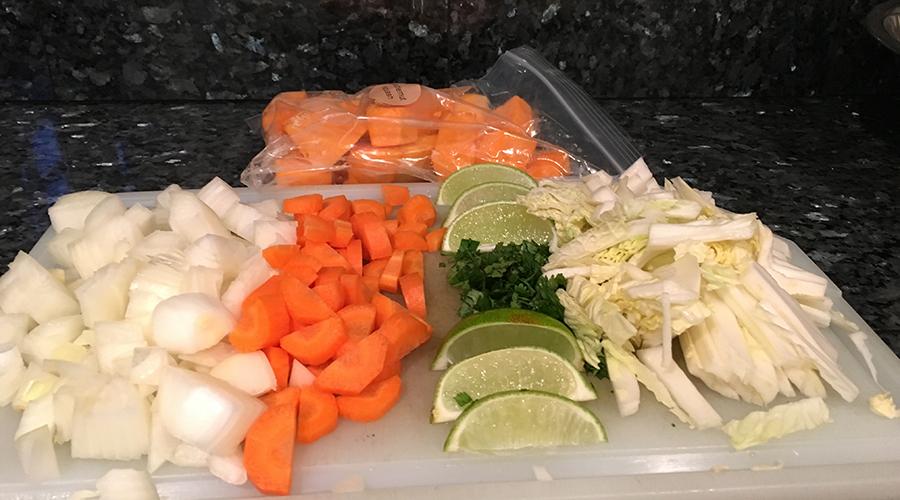 Vegetables Prep