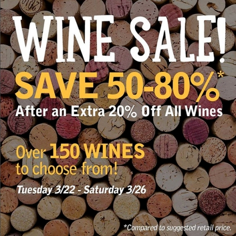 Grocery Outlet's Spring Wine Sale Starts This Tuesday, March 22nd!