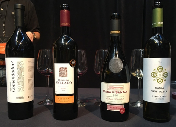 portuguese wines line up