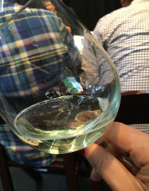 vinho verde closeup