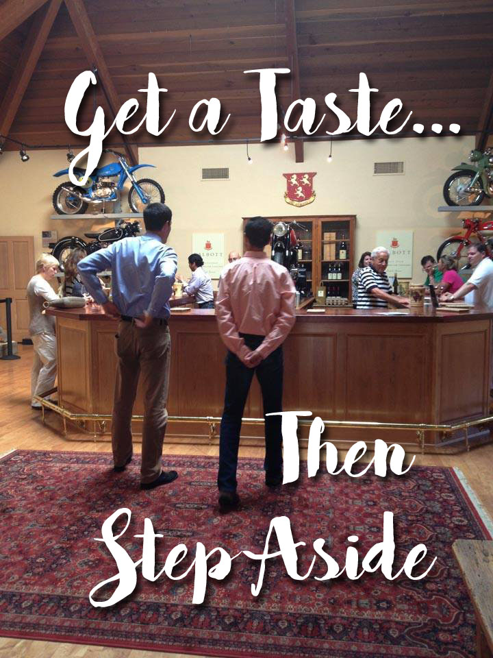 get a taste step aside copy
