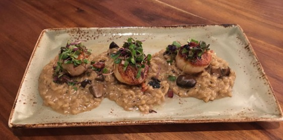 scallop-with-risotto