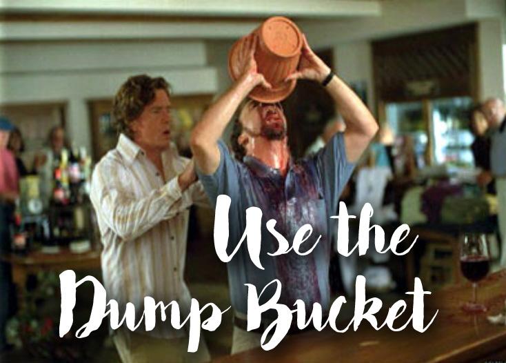 Use the Dump Bucket