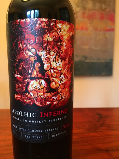 Flights By Night #6: Apothic Inferno and Primal Moussaka