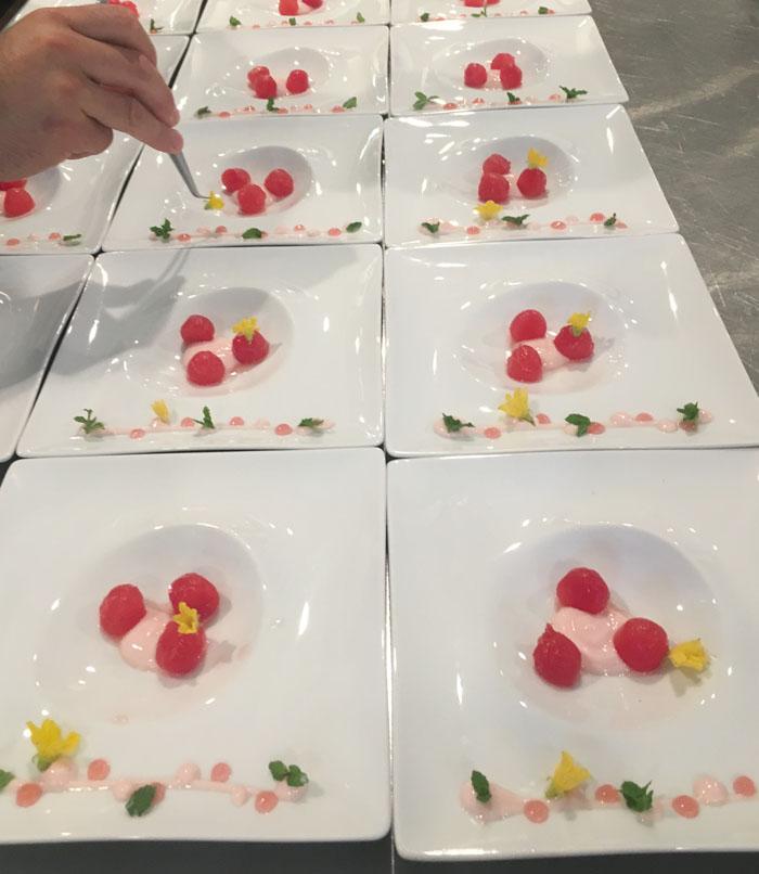 plating-panzanella